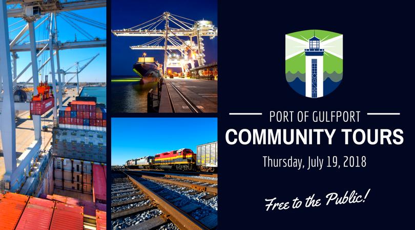 Port of Gulfport Community Tours