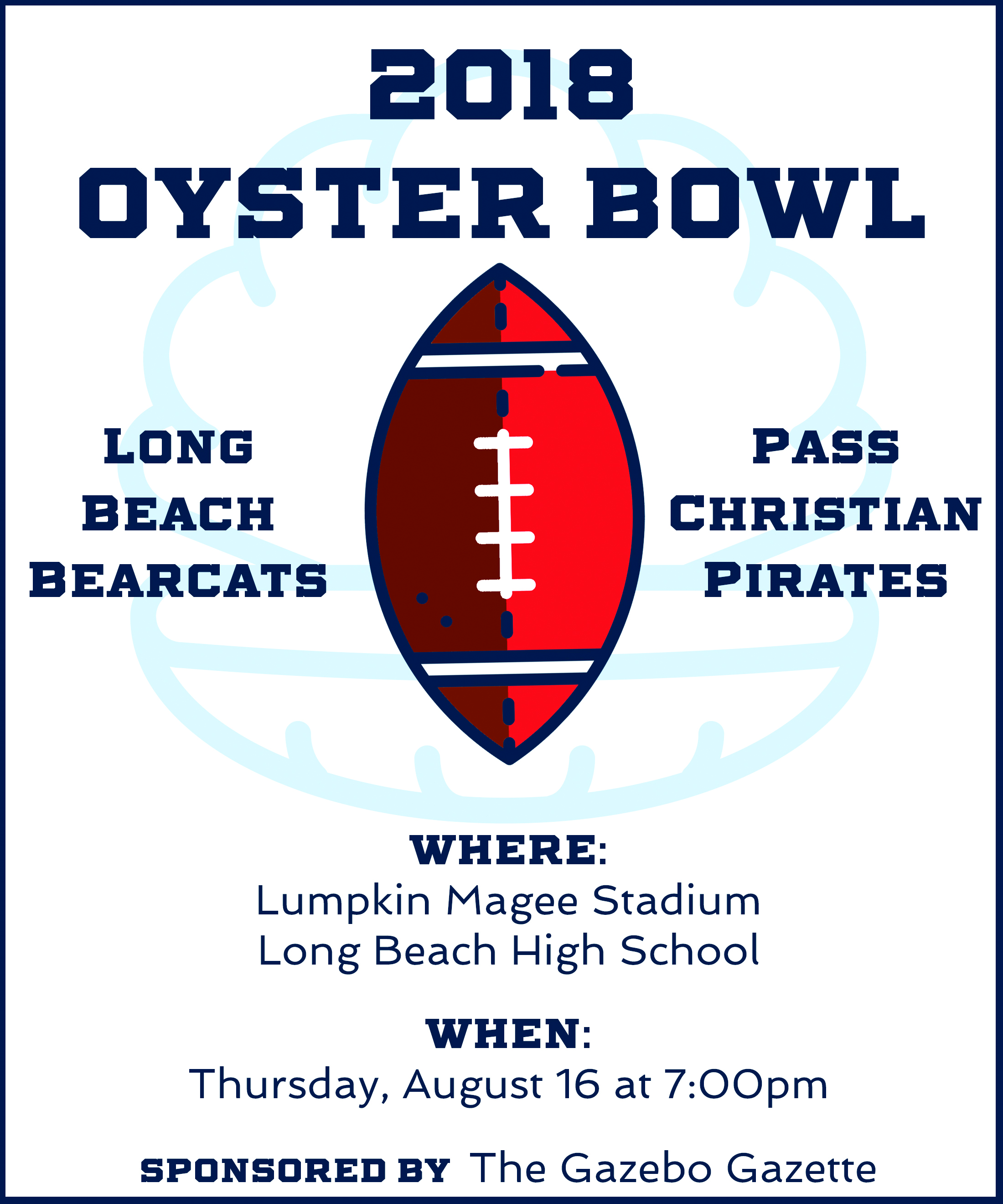 THE OYSTER BOWL SERIES:  Long Beach v. Pass Christian (Part 4 – The Coaches)