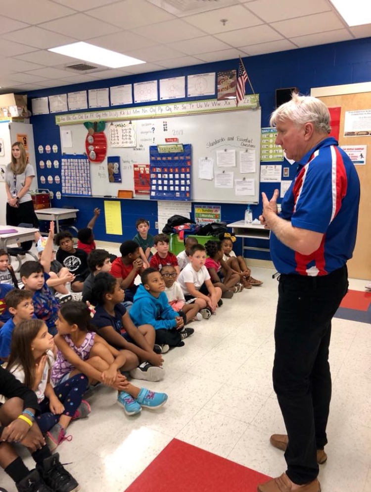 PASS CHRISTIAN ELEMENTARY SECOND GRADE WELCOMES COMMUNITY LEADERS