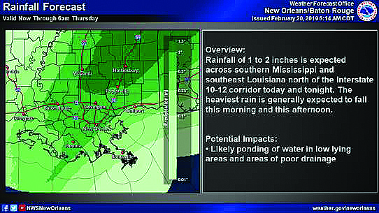 Possible Severe Thunderstorms today