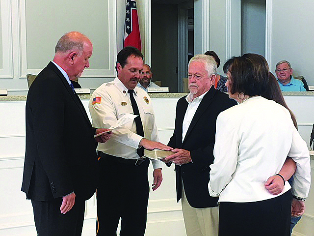 Long Beach Board Welcomes New Fire Chief