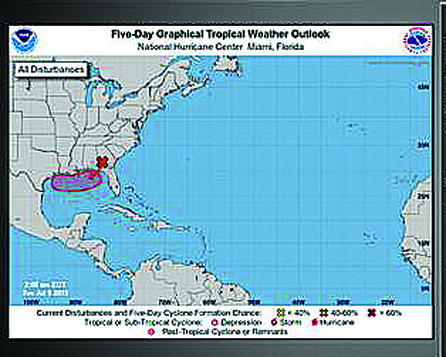Tropical Storm Impact Expected Thursday
