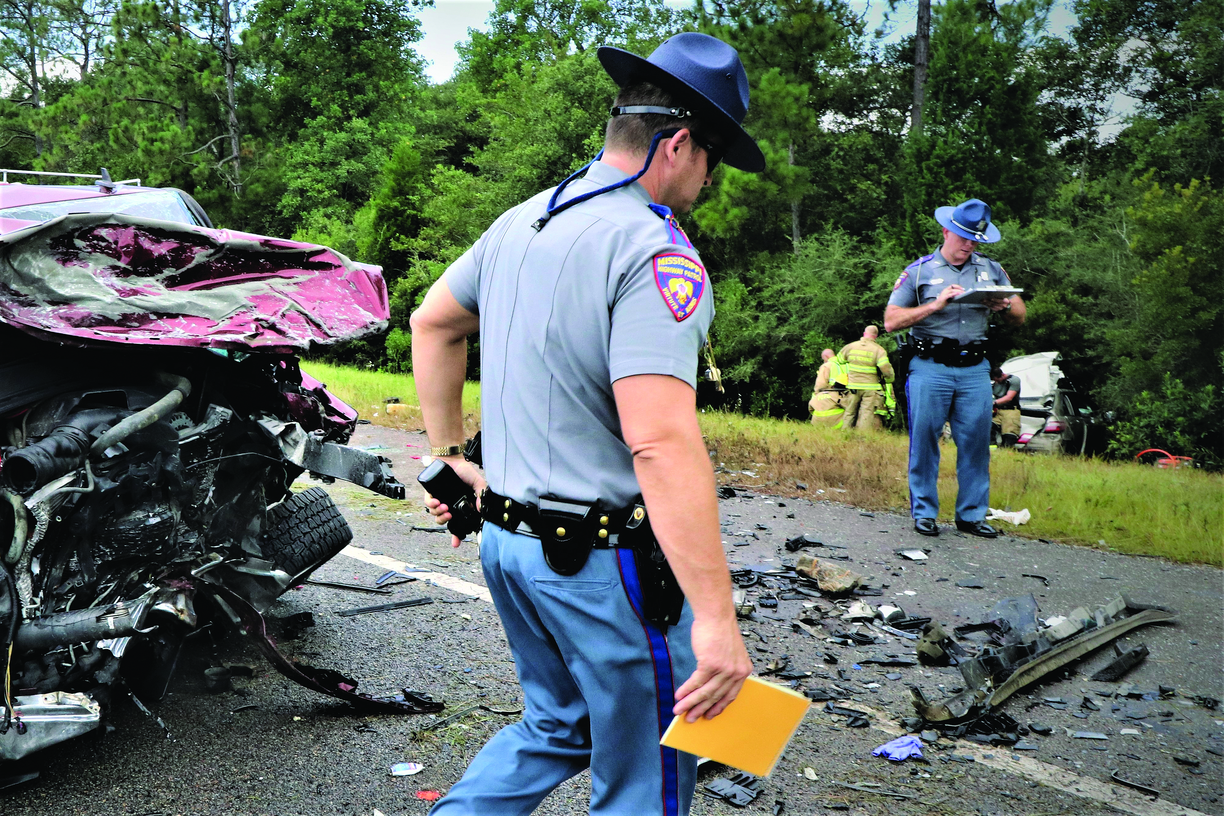 Officer Dies at I-10 Accident in Harrison County
