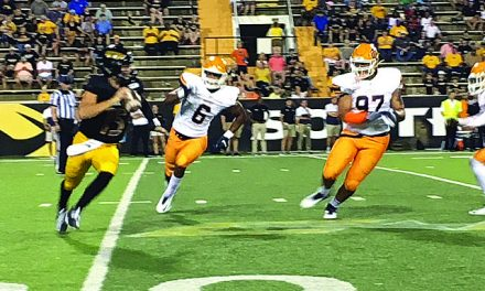 Eagles Dominate Miners in first Conference USA game