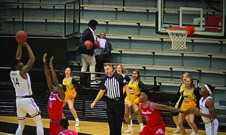 Southern Miss tops Tougaloo 96-77 at home