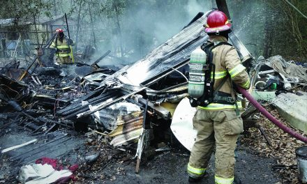 Two County Trailers Destroyed by Fire Outside Long Beach