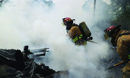 County Firefighters Stop House Fire in Pass Christian