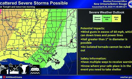 Severe Weather Threat Tuesday and Wednesday