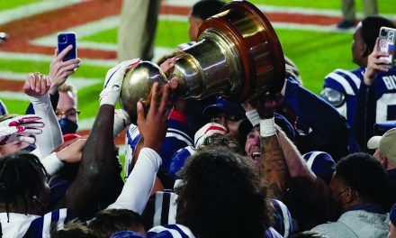 Ole Miss Wins the Egg Bowl 31-24