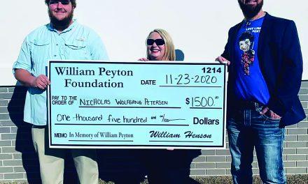The William Peyton Foundation Awards First Scholarships