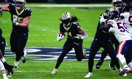 Brees, Saints pull away late for 21-9 playoff win over Bears