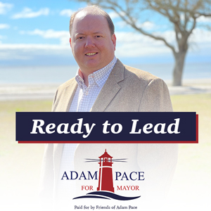 Advertisement for Pass Mayor Candidate