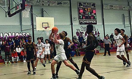 END OF THE ROAD:  Long Beach Basketball Bows Out