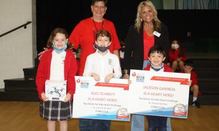 SVDP Students Help American Heart Association