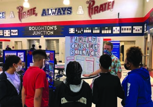 Pass High Students Explore New Careers
