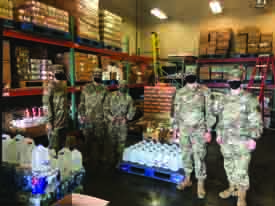 Navy Donates More Than 23,000 Pounds of Food
