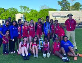 Rocks & Lady Pirates Claim Division Track & Field Titles