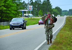 Gulf Coast Resident Raising Awareness for Veteran Suicide Victims