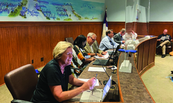 Flooding & Drainage Concerns Dominate Board's First Meeting