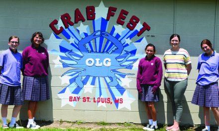 OLA Honors Art Students Create Paintings for OLG Parish