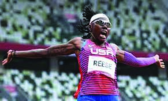 Reese Wins Third Olympic Medal