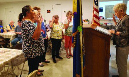 Long Beach American Legion Installs New Officers