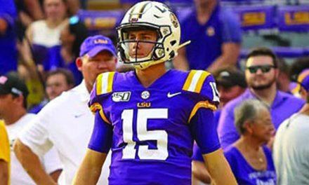 LSU & SSC Alum Quarterback Brennan Needs Surgery for Arm Injury