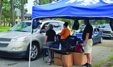 Navy Base Hosts Back-to-School Drive
