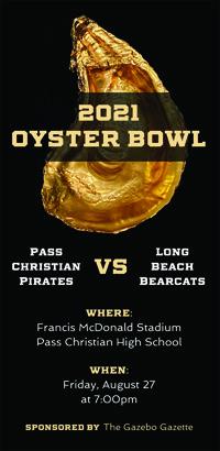 The 5th Annual Oyster Bowl on the Horizon:  Long Beach v. Pass Christian