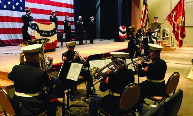 Navy Base Holds Bells Across America Ceremony
