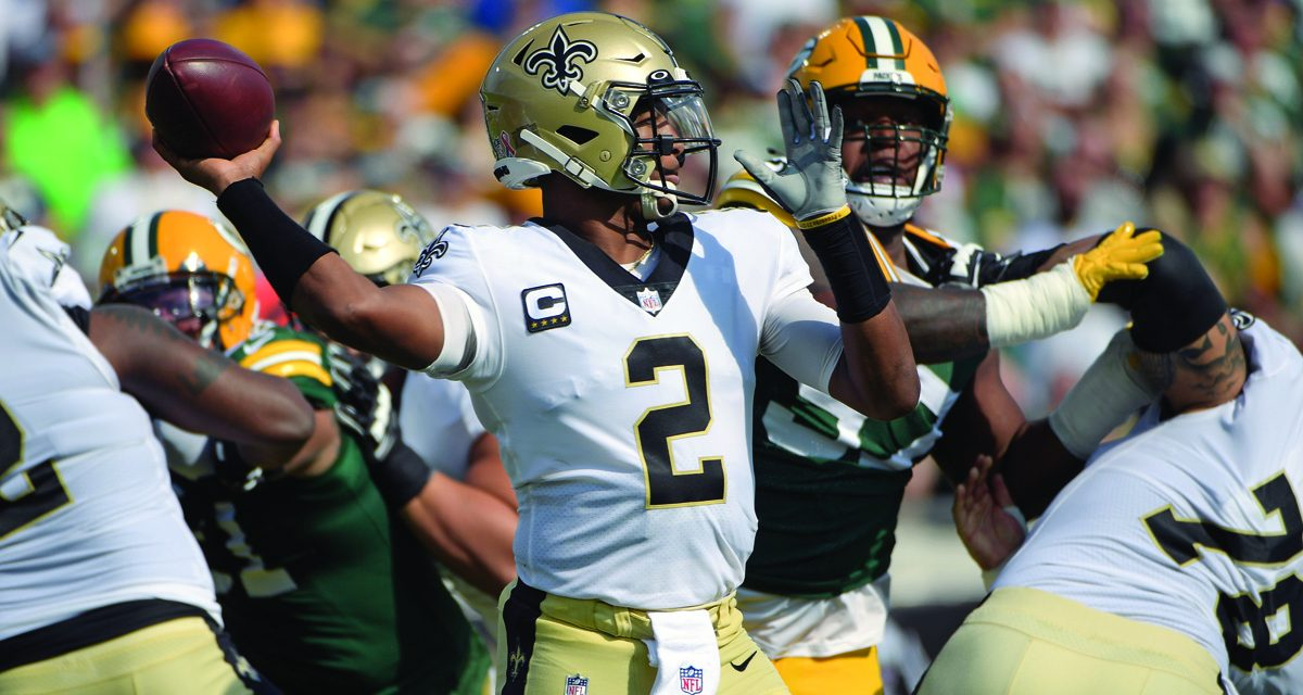Saints Pound Packers 38-3 in Jacksonville