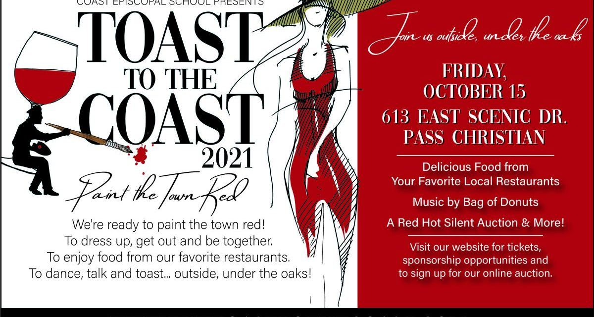 38th Annual TOAST TO THE COAST to Roll Out the Red Carpet